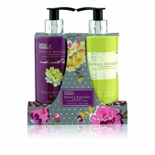 Baylis & Harding Royale Bouquet Limited Edition Assorted 2 Bottle Gift Set (Baylis And Harding Royale Bouquet Gift Set)