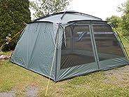 "New! YANES KUCHE Kitchen Tent (12 x 12 x 7'6"") with RAIN Panels, Screen House, Dining Shel"