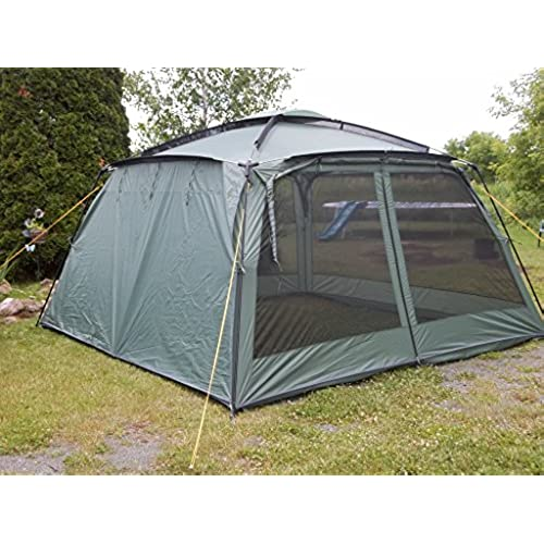 YANES KUCHE KITCHEN TENT (12 x 12 x 7u00276 ) WITH RAIN PANELS Screen House Dining Shelter Tent  sc 1 st  Amazon.ca & Screen Tents: Amazon.ca