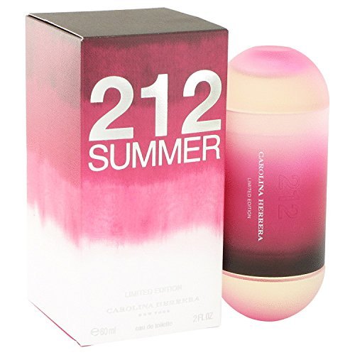 212 Summer Perfume by Carolina Herrera Eau De Toilette Spray For Women 2 oz. 60 ml. [WP] Free! Lempicka 0.17 oz Mini EDP (Ch Carolina Herrera Belt compare prices)