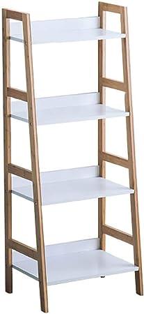 Estantería de niveles, estante de almacenamiento de madera de ...