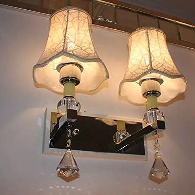 Lampe Murale lampe murale création tête double wall lamp lampe de chevet lampe murale européenne salon la chambre pastorale lampe murale escalier
