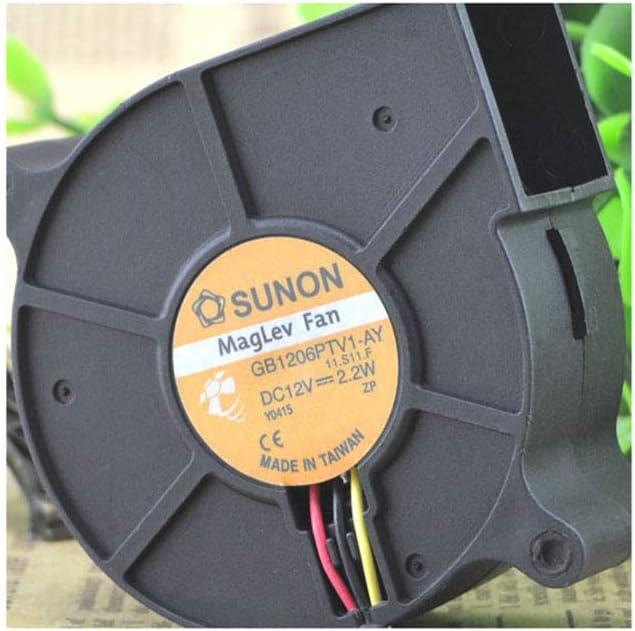 Cytom for Original Built-in sunon 6 cm 6025 Turbo Fan GB1206PTV1-AY 12V 2.2W 3 line