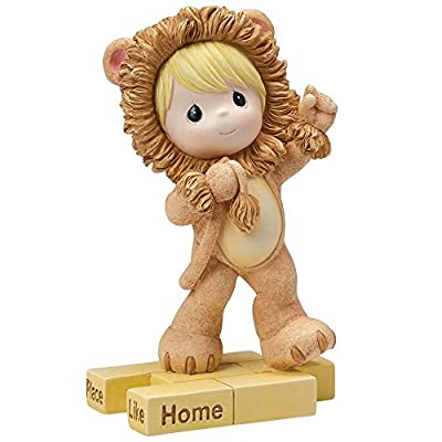 "Precious Moments, Birthday Gifts, ""The Wonderful World of Oz"" Lion, Resin Figurine, #154460"