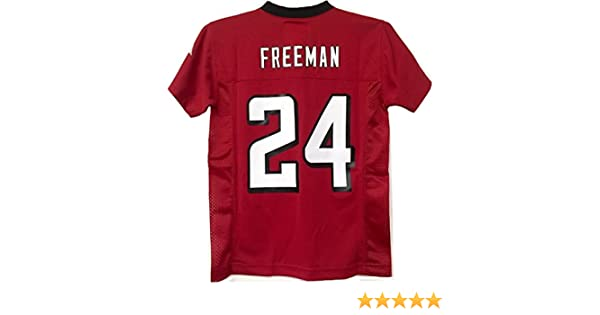 timeless design 01f5a 83d54 Devonta Freeman Atlanta Falcons #24 Red NFL Youth Home Mid Tier Jersey