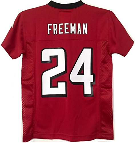 Devonta Freeman Atlanta Falcons  24 Red Nfl Youth Home Mid Tier Jersey  Medium 10 12