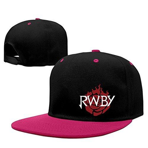 GXGML R-wby Classiclogo Unisex Fashion Baseball Adjustable Hip Pop Cap Cool Truck Hat Baseball Hat Unisex,men And Women Pink
