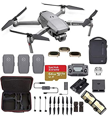 DJI Mavic 2 Pro with Hard Professional Case and ND Filters