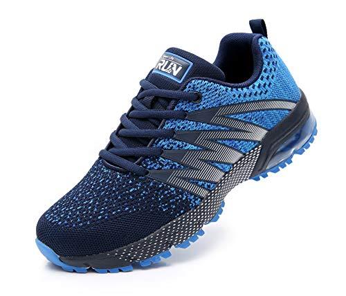 Azooken Herren Damen Sportschuhe Laufschuhe Turnschuhe Sneakers Leichte Fitness Mesh Air Sneaker Straßenlaufschuhe… 1
