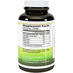 Pure CLA Supplement, Best Premium Quality ★ Highest Grade Safflower Oil (Best Formula) - 1000 Mg ★ All-natural & Guaranteed By Natures Design