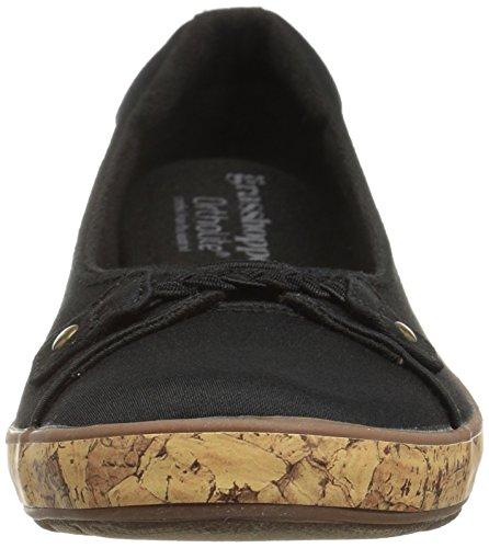 Sauterelles Womens Harbor Wedge Mode Sneaker Noir