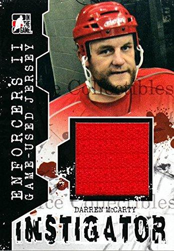 - (CI) Darren McCarty Hockey Card 2013-14 ITG Enforcers Instigator Jersey (base) 14 Darren McCarty