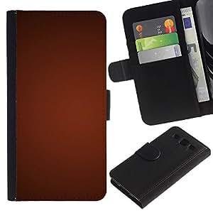 JackGot ( Texture Gradiente Rosso ) Samsung Galaxy S3 III i9300 i747 la tarjeta de Crédito Slots PU Funda de cuero Monedero caso cubierta de piel