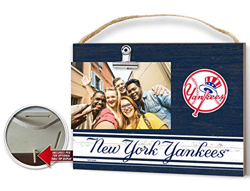 KH Sports Fan Clip It Colored Logo Photo Frame New York - Pictures Yankee Ny