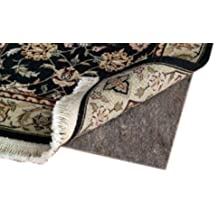 CraftRugs 9' X 12' Ultra Plush Non-Slip Rug Pad for Hard Surfaces and Carpet