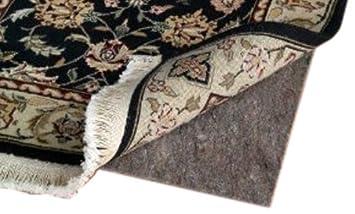 rug pad 8x10. 8\u0027 x 10\u0027 ultra plush non-slip rug pad for hard surfaces and 8x10