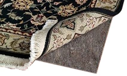 CraftRugs 2' X 3' Ultra Plush Non-Slip Rug Pad for Hard Surfaces and Carpet Area Rug World UL0423
