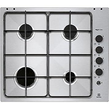REX INC RGG6041NOX PIANO COTTURA 60CM INOX: Amazon.de: Küche & Haushalt