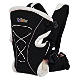 Bebamour Classic Baby Carrier Baby Backpack 3 in 1 Functional Infant Carrier (Black)