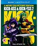 Kick-Ass & Kick-Ass 2 [Blu-ray] [Import]
