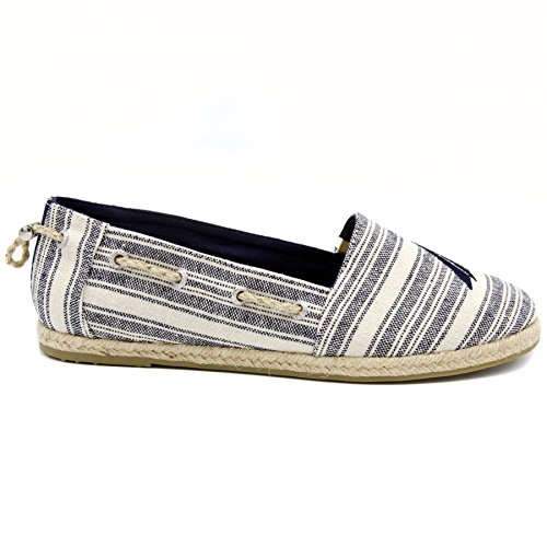 Slip-on Mocassino Da Marinaio Nautica Da Donna