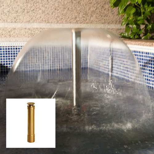 Aquacade Fountains Brass DN50 2'' Extended Bell Fountain Nozzle