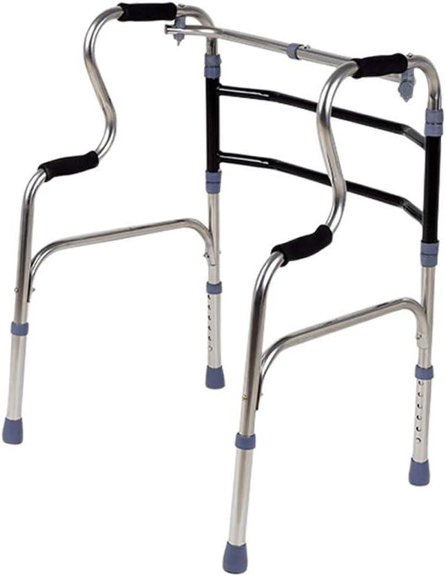 LY88デイリーアシスタンスDiry高齢者ウォーカー4脚カート下肢リハビリテーションウォーカーの高さ調整可能