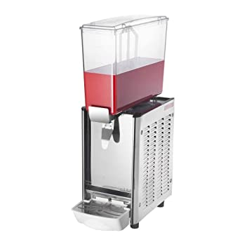 PrimeMatik - Máquina dispensadora de zumos y Bebidas frías comerciales de 9L x 1 Tanque