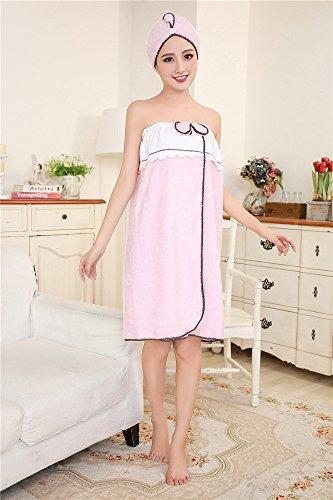 panno indossare da essiccazione spugne di senza 130 bagno torace della di 80 possono pink Asciugare spiaggia farfalla di casa 80 asciugamani Pink stoffa di pezzi gonne 130 microfibra il Corallo MIWANG TS8nOwHw