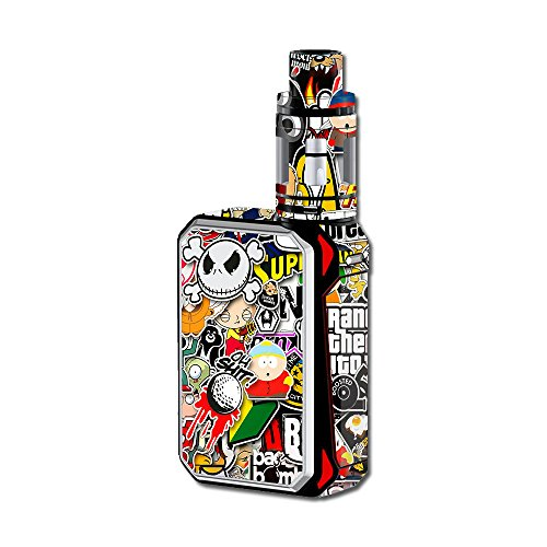 Skin Decal Vinyl Wrap for Smok G-Priv 220W Vape Mod Stickers Skins Cover/Sticker Slap (Best Electronic Shisha Pen)