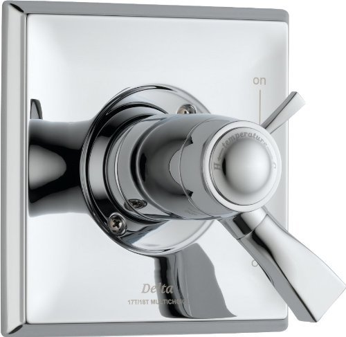 Delta T17T051 Dryden Tempassure 17T Series Valve Trim Only, Chrome by DELTA FAUCET