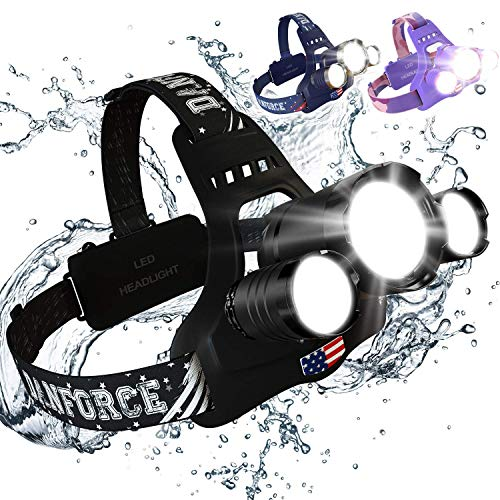 Led Head Torch Red Light in US - 1