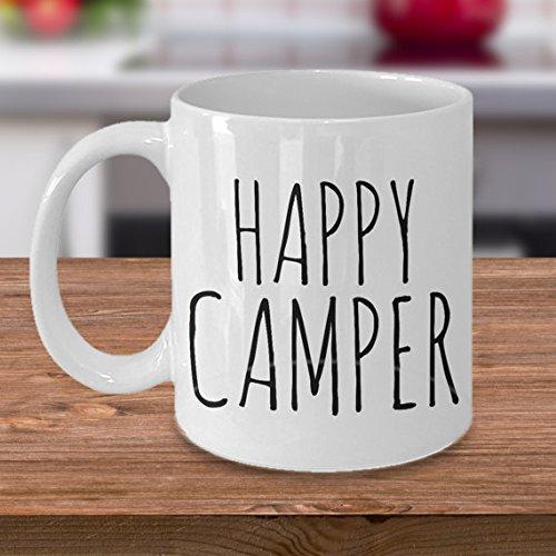 Happy Camper Mug - Cute Gift for Campers - Camping Mug - Gift for Friend - Coffee Mug - Tea Mug