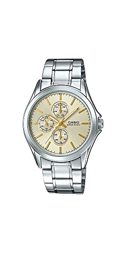 d5c0309ef583 Casio MTP-V302D-9A - Reloj analógico para Hombre (Acero Inoxidable ...