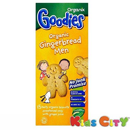 Organix Goodies Organic Gingerbread Men 135g