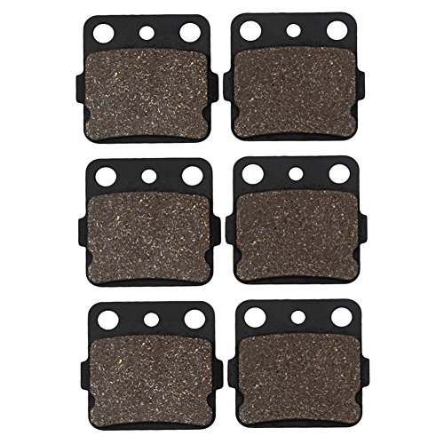 - Cyleto Front And Rear Brake Pads For Honda TRX400X TRX 400X 2009-2014 / TRX400EX TRX 400EX Sportrax 400 2001-2008 / TRX400 EX Fourtrax 1999 2000