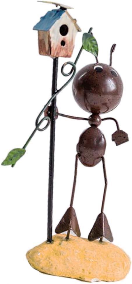 Hormigas De Hierro Forjado Estatuilla De Hierro 3D Ornamento De Las Hormigas Decorativas Artesanías De Hierro Decoración Del Hogar De Escritorio - 6