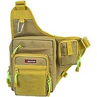 Piscifun Sports Shoulder Bag Fishing Tackle Bag Crossbody...