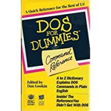 DOS for Dummies(r) Command Reference