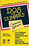 DOS for Dummies Command Reference, Greg Harvey, 1878058916