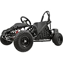 Big Toys USA MT-GK-01-Black Off Road Go Kart 48 Volt 1000 Watt by BIG TOYS USA