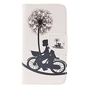 lumia 640 Case,Nokia Lumia 640 Case,OYYC [Cycling dandelion Love] [Kickstand Feature] Luxury Wallet PU Leather Folio Wallet Flip Case Cover Built-in Card Slots for Microsoft Nokia Lumia 640