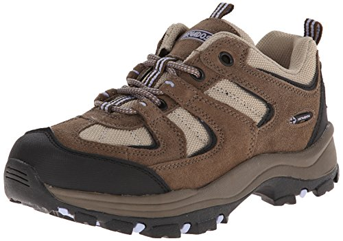 Nevados Women's Boomerang II Low Hiking Trail Shoe, Chocolate Chip/Stone/Lavender, 7 M US