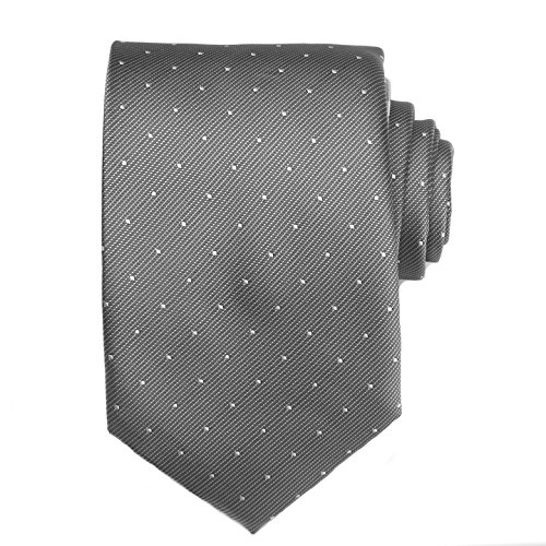 Grey White With Tie Neckties Dots TNS Skinny zqgxOBBwH