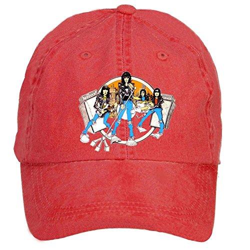 Tommery Unisex Ramones Band Member Hip Hop Baseball Caps