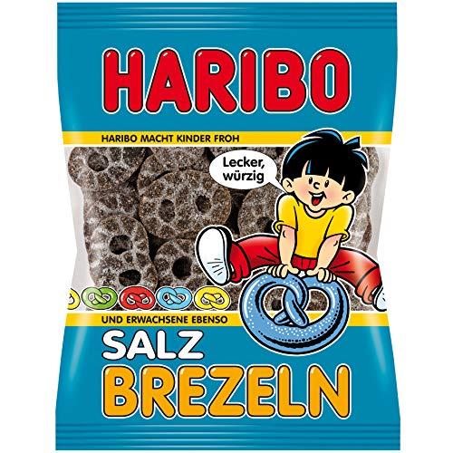 (               Haribo Salty Licorice Pretzels 200 g)