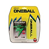 ONEBALL MINI WAX KIT F-1 All Temp Wax, ski snowboard Plastic Scraper 2015 One ball kit NEW