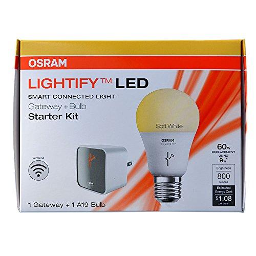 osram-sylvania-lightify-smart-starter-kit-95-watt-60w-equivalent-2700k-a19-medium-base-e-26-dimmable