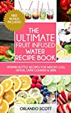 "★★★NEW RELEASE!!★★★ FREE BONUS + Lifetime Mailing List Subscription Other Books In This Series ""The Ultimate Juicing Recipe Book"" & ""The Ultimate Smoothie Recipe Book"" Looking For Delicious & Healthy Fruit Infused Water Recipes For Rapid Weig..."