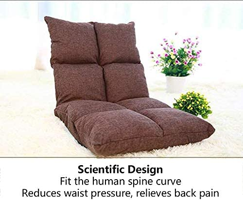 StarrkD Verstellbarer Stock-Gaming-Sofa Sessel,6 – Position Multiangle Sitz Perfekt Für Meditation, Lesen, Tv-Watching-g 110x52x13cm(43x20x5inch)